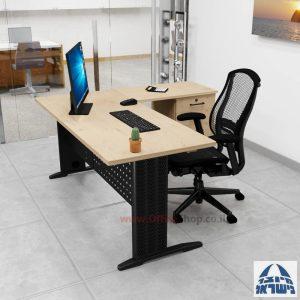שולחן מזכירה פינתי דגם Alfa