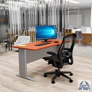שולחן כתיבה משרדי מפואר Alfa רגל כסופה