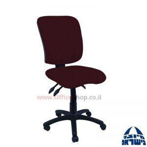 כסא מזכירה דגם Ofir + מושב ארגונומי ללא ידיות