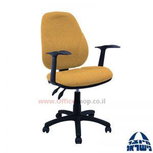 כסא מזכירה משרדי דגם Gal כולל ידיות ארגונומיות