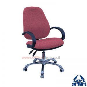 כסא מזכירה דגם Gal פרימיום + ידיות סהר