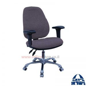 כסא מזכירה דגם Gal פרימיום + ידיות מתכווננות