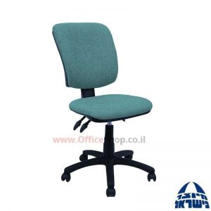 כסא משרדי דגם Ofir מרובע גב ומושב מתכווננים