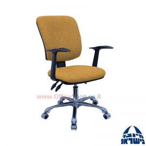 כסא מזכירה דגם Ofir פרימיום + ידיות ארגונומיות