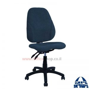 כסא מזכירה דגם Gal + מושב ארגונומי ללא ידיות