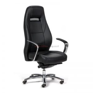 כסא מנהלים יוקרתי דגם GIMINI בריפוד PU איכותי