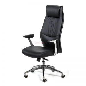 כסא מנהלים יוקרתי דגם POLO גבוה בריפוד PU