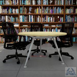שולחן ישיבות עגול ויוקרתי דגם Spider בהתאמה אישית