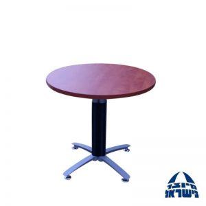 """שולחן דיונים עגול דגם TANGO קוטר 80 עד 100 ס""""מ"""