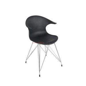כסא אורח עם ידיות דגם SMART פלסטיק צבעוני