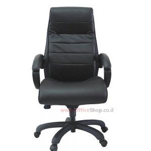 כסא מנהלים דגם מעיין בריפוד PU משובח