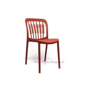 כסא אורח דגם PAZ פלסטיק צבעוני