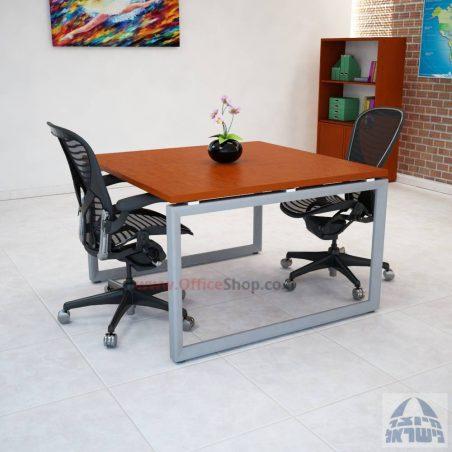 שולחן ישיבות מרובע ויוקרתי דגם Diamond בהתאמה אישית