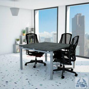 שולחן ישיבות מרובע ויוקרתי דגם Rotem