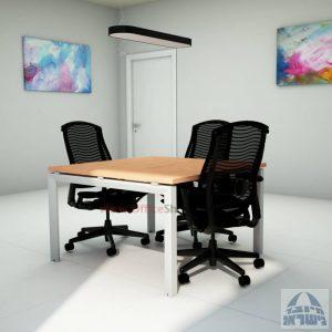 שולחן ישיבות מרובע ויוקרתי דגם Sapir בהתאמה אישית