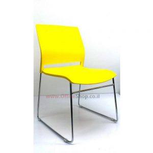 כסא אורח דגם LIRAZ פלסטיק צבעוני