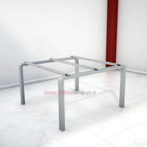 רגל מתכת לשולחן דיונים משרדי MORO