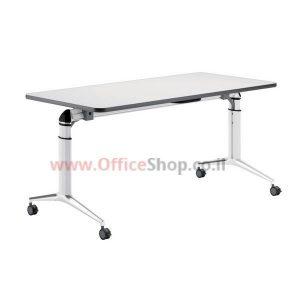 שולחן משרדי מתקפל – שולחן כתיבה +גלגלים