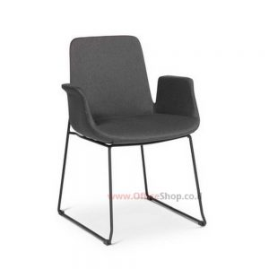 כסא אורח Marina בריפוד בד