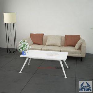 שולחן המתנה מעוצב Spider  רגל לבנה