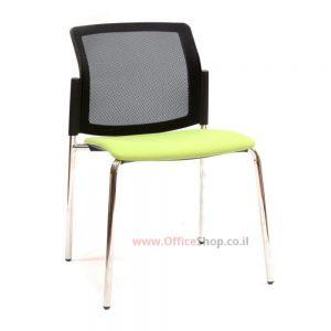 כסא אורח גב רשת – דגם LOGANO