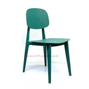 כסא אורח דגם NOVA פלסטיק ירוק או אפור